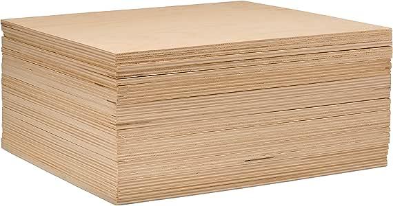 "3 mm 1/8"" X 10"" X 10"" 优质波罗的海桦木胶合板 - B/BB 级 - Woodpeckers 出品的床单 natural color of unfinished wood BPW-1/8x10x10-45"