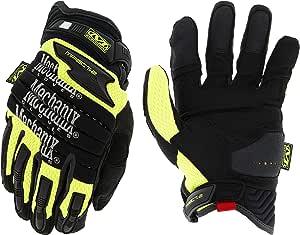 Mechanix Wear - Hi-Viz M-Pact 2 Gloves (XX-Large, Black/Fluorescent Yellow)