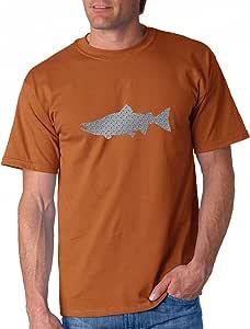 Alaskan Hardgear Salmon 印花短袖图案 T 恤 XXX-Large RR-10SAL