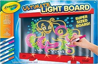 Crayola 绘儿乐 Ultimate Light Board Red, 绘图板, Amazon 儿童, 适合年龄6, 7, 8, 9