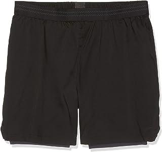 Speedo 男士反光二合一水短裤