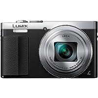 Panasonic LUMIX dmc-tz70eb-s 紧凑型数码相机带 LEICA DC vario 镜头–黑色(12MP ,30倍光学变焦,控制戒指,1.2.EVF , Wi-Fi 带 NFC ) 9.4CM LCD