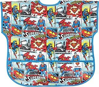Bumkins DC Comics Waterproof Junior Bib, Superman Comic (1-3 Years)