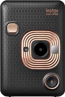 FUJIFILM 拍立得 Cheki 即时相机/智能手机打印 INS MINI HM1 instax mini LiPlay 优雅黑色