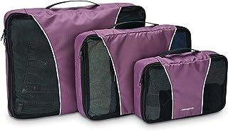 Samsonite 新秀丽 3件套收纳包旅行手提包紫色 均码