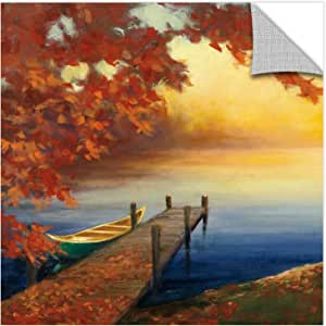 "ArtWall 2pur016a2424p Julia Purinton's Autumn Glow III Removable Wall Art, 24"" x 24"""