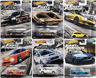 Hot Wheels Full Jaguar Project Force Fast Furious 高级汽车捆绑带 Turners Subaru WRX / Nissan 240 / Silvia / Mazda RX7 / Honda Civ...