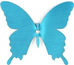 Touch of Nature 1 件 Layer Me Swallowtail 蝴蝶夹用于装饰 孔雀绿 4-Inch 20547