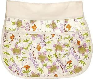 A greener 厨房女童有机棉围裙 霜 均码