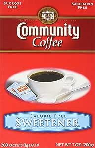 Community Coffee咖啡蓝色甜味剂包 200个 4件