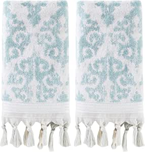 SKL Home Mirage 流苏 水* Hand Towel Set U1468710835203
