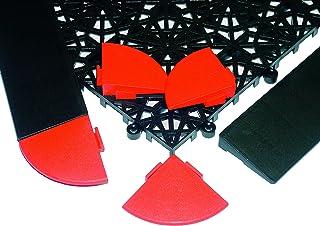 Miltex 11154 角瑜伽锈,5.5 x 5.5 cm,4 件装,红色