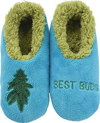 Snoozies 420 男士拖鞋 | 男士拖鞋 | Best Buds | XL 码