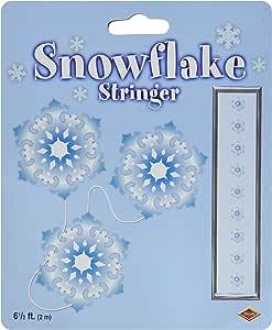 Snowflake Stringer Party Accessory (1 count) (1/Pkg)