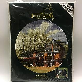 "Heritage Stitchcraft 约翰·克莱顿系列""Watermill""挂毯套件"