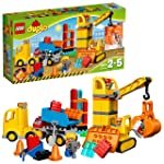 LEGO 乐高  拼插类 玩具  DUPLO 得宝系列 大型建筑工地 10813 2-5岁 婴幼