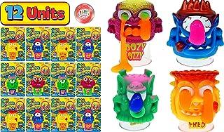 JA-RU 史莱姆怪物 史莱姆玩具(4 件装)呕吐 傻怪 弹力 蓬松 泥浆 橡皮泥 粘土 无粘性 * 儿童玩具 5457-4p 12 Units assorted