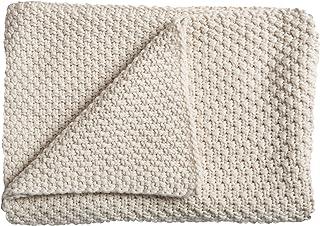 Schardt 15 100 208 Sunny 婴儿针织毯 75 x 100 厘米 灰色 米色