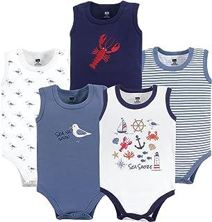 Hudson Baby 5件装无袖棉质紧身