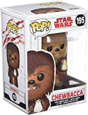 Funko POP . 星球大战: THE last Jedi–chewbacca ( 植绒 )–FYE