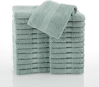 martex commercial wash cloth, aqua, pack of 24 by martex