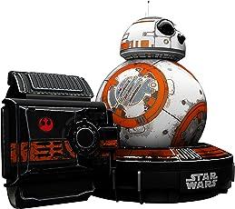 Sphero星球大战R001SRW - 电子机器人Droid BB-8 配有Force Band手链