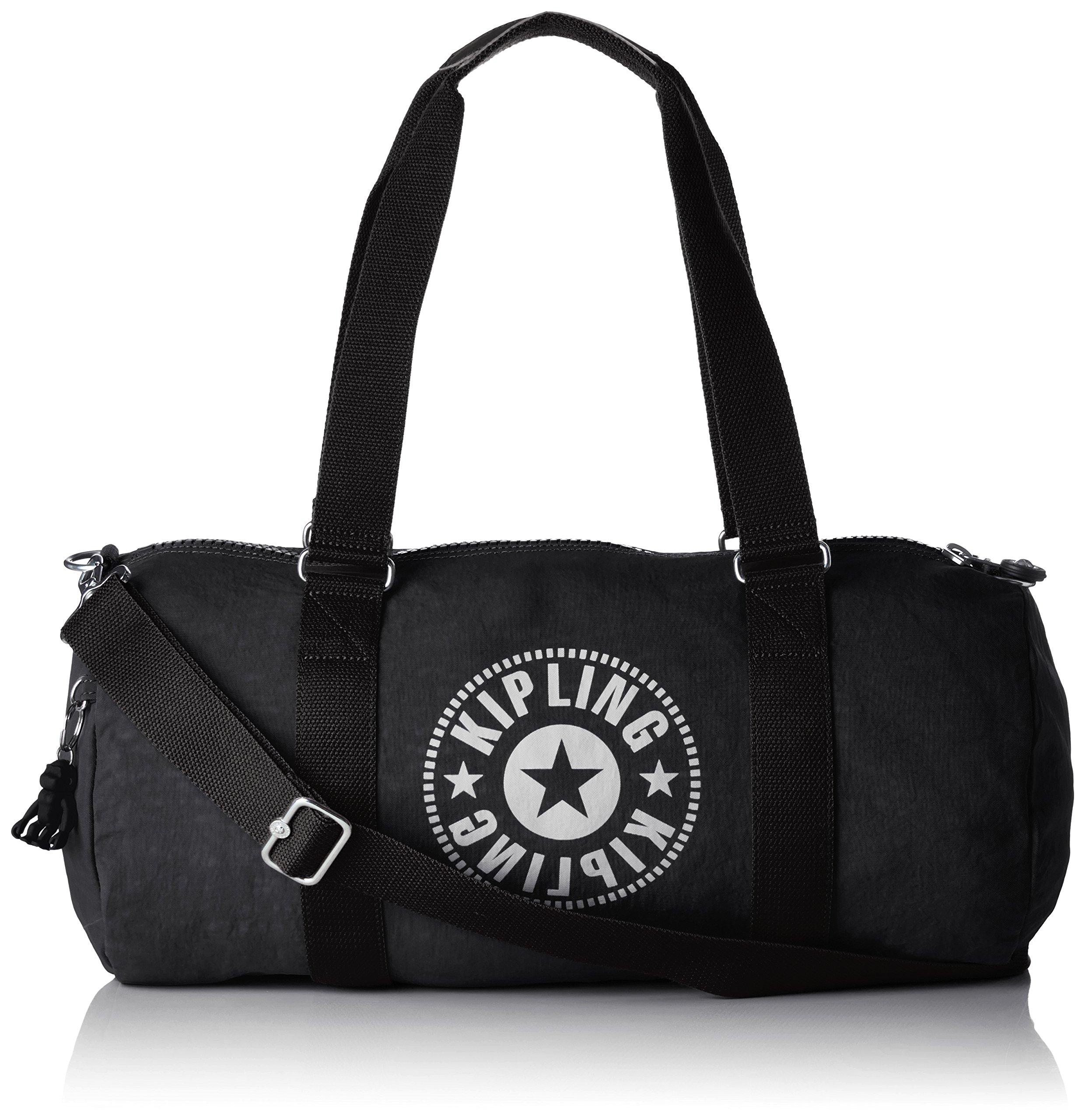 キプリングOnaloスポーツバッグ、45センチメートル活発な黒45センチメートル