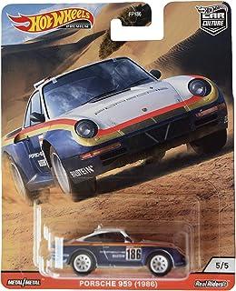 Mattel Hot Wheels 汽车文化保时捷 959,蓝色/白色
