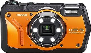 WG-6 20MP 水下數碼相機美國模型03853 僅攝像機 橙色