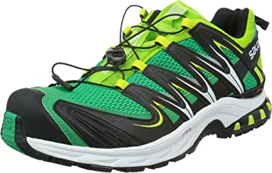 Salomon 萨洛蒙 男 越野跑鞋 XA PRO 3D 375925 叶绿色 43 1/3 (UK 9)