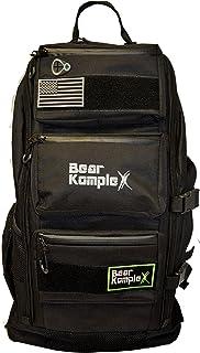 Bear KompleX * 3 天战术背包,适用于远足、狩猎、健身、露营和户外。 1000D 尼龙背包 - 黑色