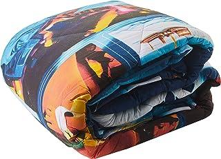 Home Passion 羽绒被套 600gr/M2 棉,220 x 240厘米,印花图样:Ibiza 蓝色多色棉 240 x 220 厘米