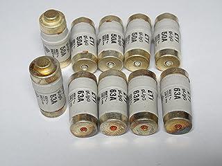REV Ritter Sicherung D02 E18 63 AMP 慢速吹(10 件装)0515067555