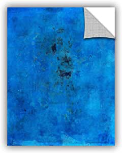 "ArtWall Elana Ray's Blue Grunge Appealz Removable Graphic Wall Art, 24 x 32"", Multicolor"
