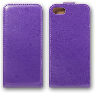 HANARO iPhone壳 手册式 竖开 简单 薄型i6-006-8-4 iPhone7 紫色
