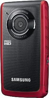 Samsung Electronics 防水高清录音带 1 个光学变焦HMX-W200RN/XAA 红色