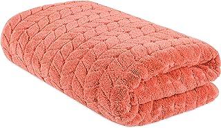 Bagno Milano 提花豪华土耳其毛巾,*土耳其棉(珊瑚红,浴巾)