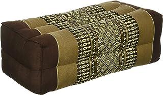 """Meditation Cushion & Yoga Prop,* Kapok-Dreams 制造的 Kapok * Kapok-Dreams。 米色和棕色 14""""x6""""x4"""
