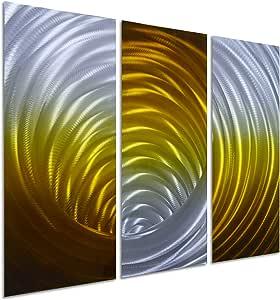 Pure Art Vortex of Colors - 多种尺寸和颜色 金色 3 条 1903GOLD-3