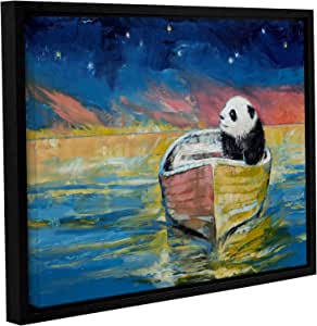 """ArtWall Michael Creese's Stargazer Gallery Wrapped Floater Framed Canvas, 14 by 18"""""""