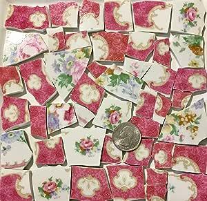 马赛克艺术和工艺品供应复古花瓷砖套装 tile_C084 tile_C084_az