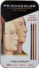 Prismacolor Premier彩色铅笔 肖像套装 软芯 24支装 25085R