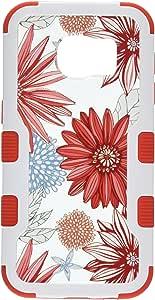 MyBat 凝灰岩混合盖三星 G930 (Galaxy S7) SAMS7HPCTUFFVIDIM004NP Back/Red