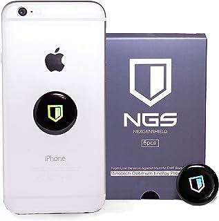 NexGenShield 6 件套 | EMF 保护手机 | EMF 屏蔽手机贴纸 | NexGen 手机*屏蔽