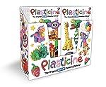 Kahootz 塑料-18 个装 6 色游戏包 6 个
