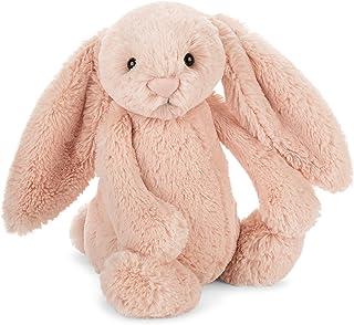 Jellycat 动物毛绒玩偶 BASHFUL害羞系列之邦尼兔 中号 红色 12英寸(约高30.48cm)