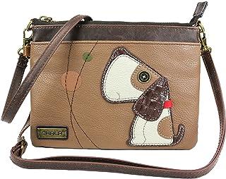 Chala Toffy Dog Mini Crossbody Handbag with Convertible Strap