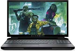 ALIENWARE 外星人 Area-51m 17.3英寸FHD防眩光IPS Tobii眼球追踪游戏2019笔记本电脑(黑色)Intel Core i9-9900K,16 GB RAM,512 GB SSD,1TB HDD,NVIDIA GeForce RTX OC 2080 8 GB GDDR6,Windows 10 Home