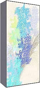 绿叶艺术花卉薰衣草 I 墙壁艺术 多色 小号 C5-YS050513aP