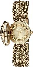 Anne Klein Women's AK-1046CHCV Gold Metal Swiss Quartz Fashion Watch